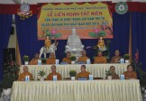 Tiền Giang: Trường Trung Cấp Phật Học Liên Hoan Tất Niên