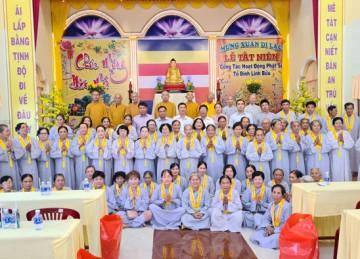 H.Tân Phú Đông: Tổ đình Linh Bửu tổng kết Khóa tu năm 2020