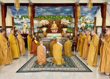H.Gò Công Đông: Lễ Hiệp kỵ và Cầu an đầu năm tại chùa Phước Trường