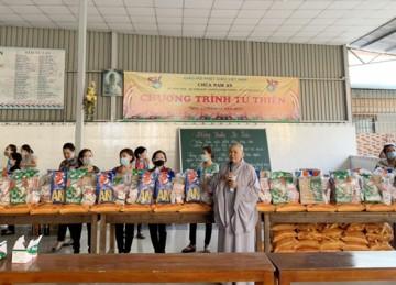 H.Châu Thành: Ấm áp chương trình Xuân yêu thương mừng xuân Tân Sửu tại chùa Nam An