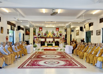 Tiền Giang: Phân ban Ni giới tỉnh tổ chức lễ Tưởng niệm Thánh tổ Ni Đại Ái Đạo và triển khai các hoạt động Phật sự năm 2021