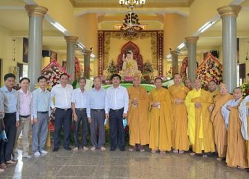 H.Tân Phước: Đại lễ Phật Đản PL.2565 của BTS Phật giáo huyện