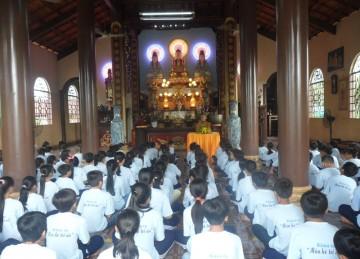 Khóa Tu Mùa Hè Tại Chùa Phú Khánh
