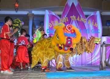 Huyện Tân Phước: BTS Tổ Chức Đêm Hội Trăng Rằm Cho Các Em Học Sinh Trường Tiểu Học TT. Mỹ Phước