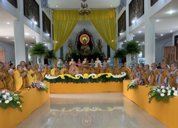 H.Cái Bè: Lễ Vu lan tại chùa Phù Châu năm 2020