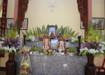 H.Cái Bè: Lễ Húy kỵ lần thứ 9 Ni sư Thích Nữ Huệ Tâm tại chùa Kim Tiên