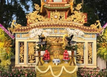 Lễ Nhập Bảo Tháp HT. Thích Liễu Minh