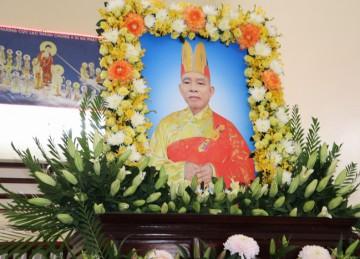Tiền Giang: Lễ nhập kim quan cố Hòa thượng Thích Thiện Hòa