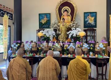 TP.Mỹ Tho: Trai đàn Dược Sư Thất Châu cầu quốc thới dân an tại chùa Tịnh Nghiêm