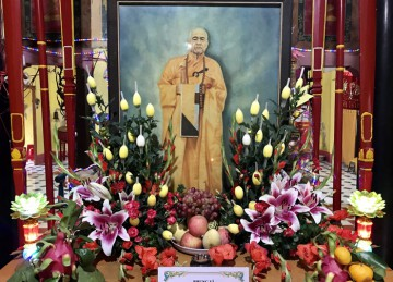 H.Gò Công Đông: Lễ Tưởng niệm lần thứ 20 cố HT.Thích Huyền Quý