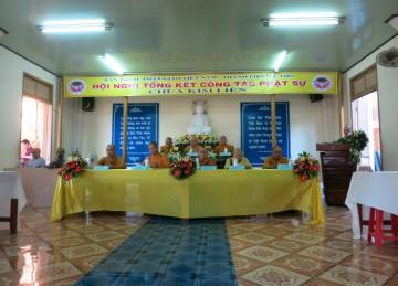 Thành Phố Mỹ Tho: Hội Nghị Tổng Kết Các Công Tác Phật Sự Năm 2015