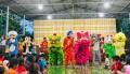 Tiền Giang [Video] Đêm hội Trung thu tại chùa Phước Lâm, huyện Châu Thành